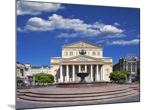 The Bolshoi Theatre-Jon Hicks-Mounted Photographic Print