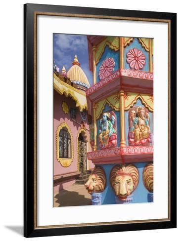 Detail of Temple near Anjuna Beach-Jon Hicks-Framed Art Print