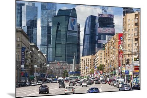 Moskva-City-Jon Hicks-Mounted Photographic Print