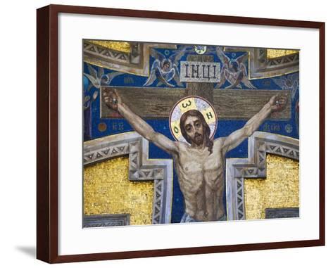 The Church of the Spilled Blood.-Jon Hicks-Framed Art Print