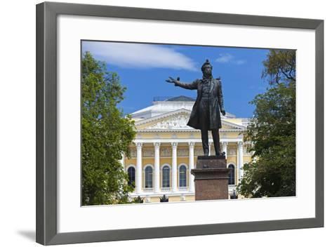 The Russian Museum.-Jon Hicks-Framed Art Print