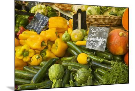 Produce Stand in Aix-En-Provence-Jon Hicks-Mounted Photographic Print