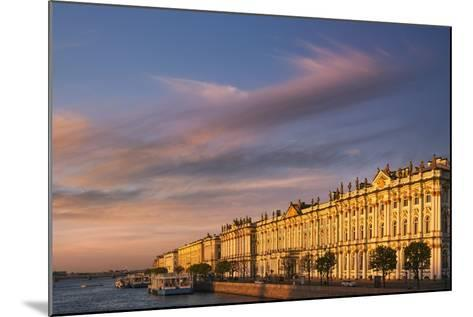 The State Hermitage Museum.-Jon Hicks-Mounted Photographic Print
