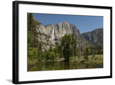 Yosemite Falls in Spring-Richard T Nowitz-Framed Art Print