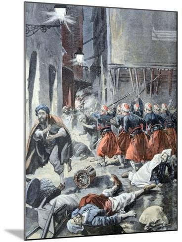 Rebellion in Algiers Algeria 1898-Chris Hellier-Mounted Photographic Print