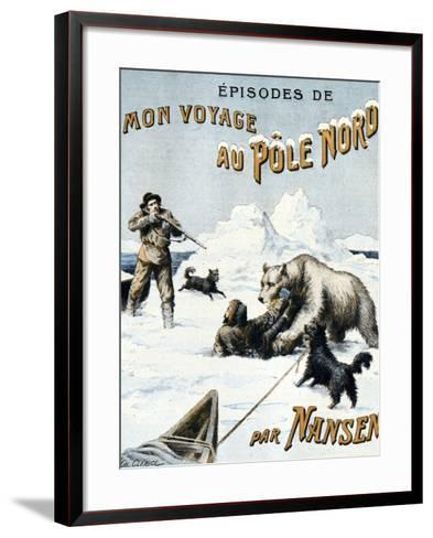 Fridtjof Nansen at North Pole 1897-Chris Hellier-Framed Art Print