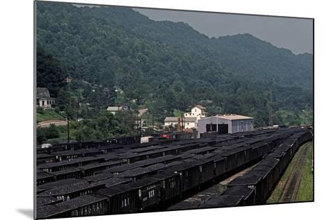Bluefield, West Virginia Coal, Railway Junction, Usa, 1979-Alain Le Garsmeur-Mounted Photographic Print