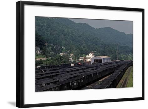 Bluefield, West Virginia Coal, Railway Junction, Usa, 1979-Alain Le Garsmeur-Framed Art Print