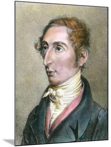 Portrait of German Composer Carl Maria Von Weber--Mounted Photographic Print