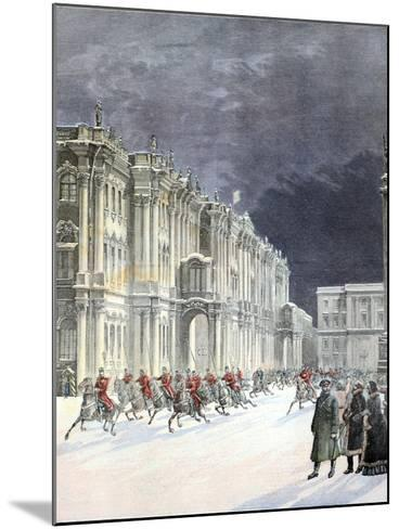 Winter Palace Saint Petersburg 1897-Chris Hellier-Mounted Photographic Print
