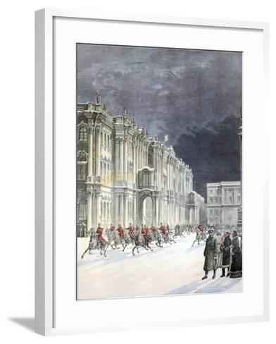 Winter Palace Saint Petersburg 1897-Chris Hellier-Framed Art Print