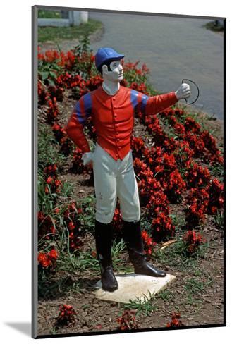 Jockey Horse Hitching Posts, Lexington, Kentucky, Usa, 1984-Alain Le Garsmeur-Mounted Photographic Print
