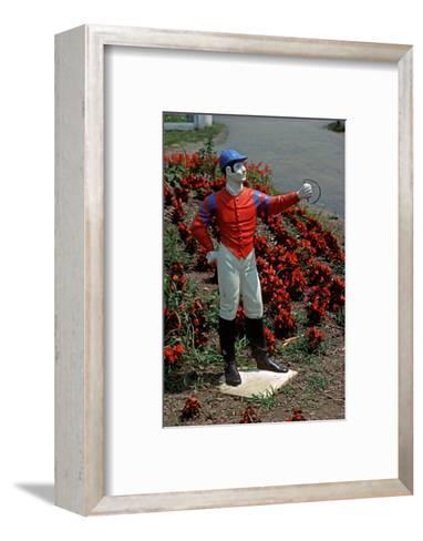 Jockey Horse Hitching Posts, Lexington, Kentucky, Usa, 1984-Alain Le Garsmeur-Framed Art Print