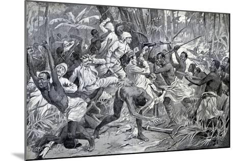 Colonial Struggle in Benin 1897-Chris Hellier-Mounted Photographic Print