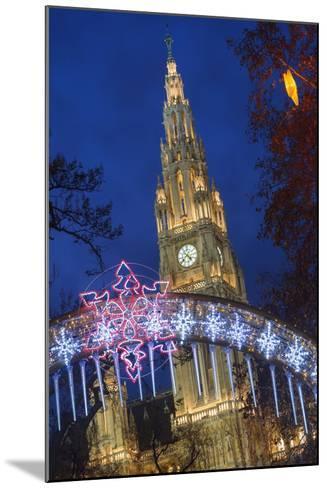 The Viennese Christmas Market, Vienna, Austria.-Jon Hicks-Mounted Photographic Print