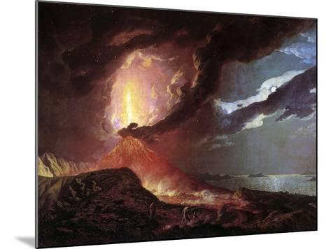 Vesuvius in Eruption, 1776 by Joseph Wright of Derby--Mounted Photographic Print