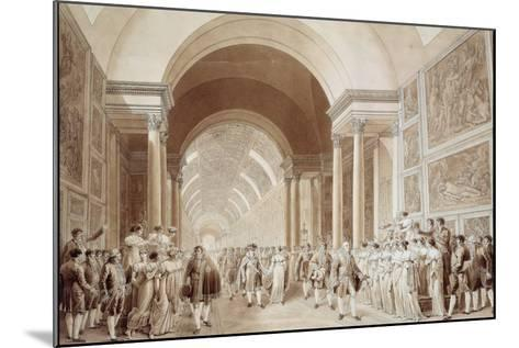 View of the Wedding Procession of Napoleon and Marie Louise--Mounted Photographic Print