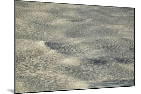 Pancake Ice on Waves-DLILLC-Mounted Photographic Print