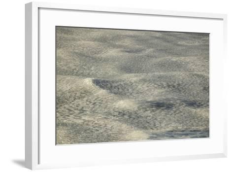 Pancake Ice on Waves-DLILLC-Framed Art Print