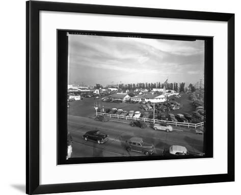 Indoor Farmers Market--Framed Art Print
