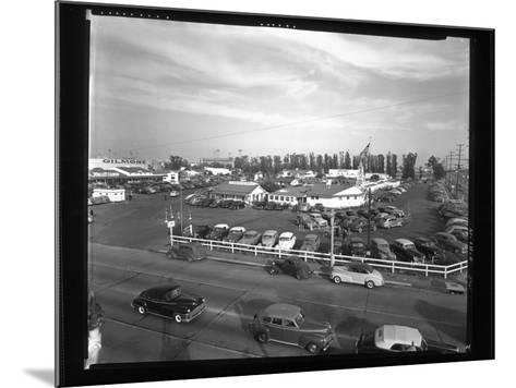 Indoor Farmers Market--Mounted Photographic Print