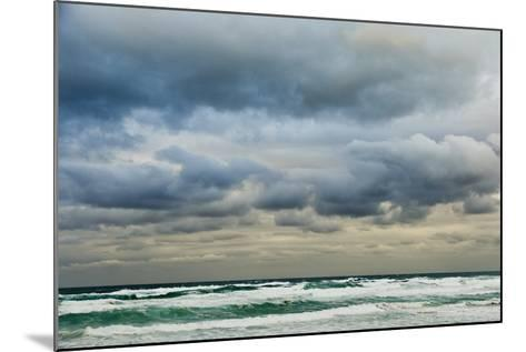 Clouds over Rough Sea-Norbert Schaefer-Mounted Photographic Print