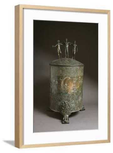 The Ficoroni Cista, with Scenes of the Argonauts Myth--Framed Art Print