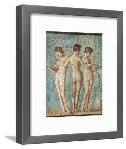 Roman Art : the Three Graces--Framed Art Print