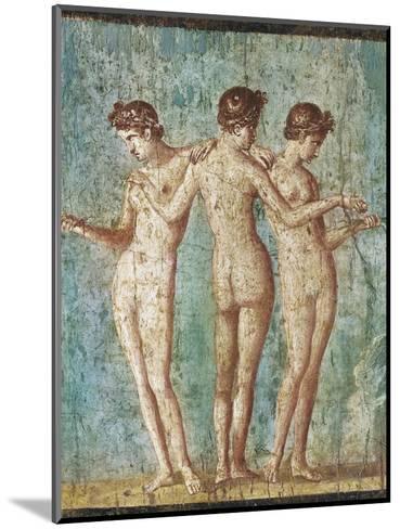 Roman Art : the Three Graces--Mounted Photographic Print