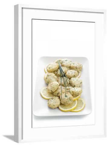 Second Course-Fabio Petroni-Framed Art Print