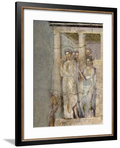 Roman Art : Iphigenia in Tauris--Framed Art Print
