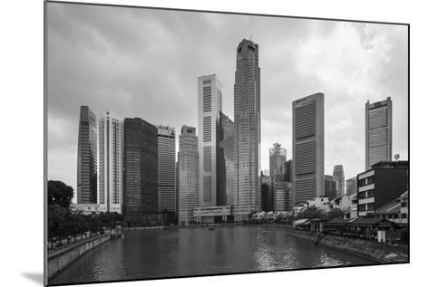 Singapore Skyline-Paul Souders-Mounted Photographic Print