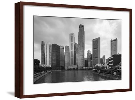 Singapore Skyline-Paul Souders-Framed Art Print