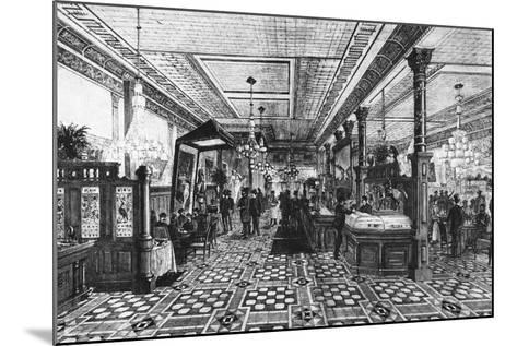 Hoffman Bar Room by F.G. De Fontain--Mounted Photographic Print