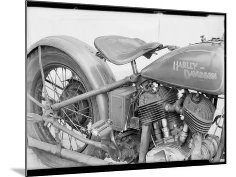 1929 Harley-Davidson Motorcycle-Dick Whittington Studio-Mounted Photographic Print