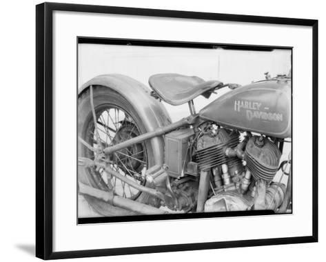 1929 Harley-Davidson Motorcycle-Dick Whittington Studio-Framed Art Print