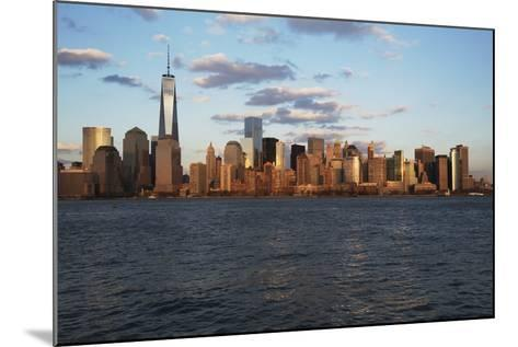 Panoramic View of New York City Skyline on Water Featuring One World Trade Center (1Wtc), Freedom T-Joseph Sohm-Mounted Photographic Print