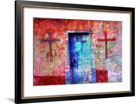 Crosses-Andr? Burian-Framed Art Print