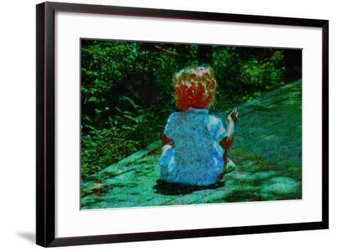 Child-Andr? Burian-Framed Art Print