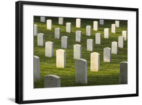 Arlington National Cemetery, Virginia, Usa.-Jon Hicks-Framed Art Print