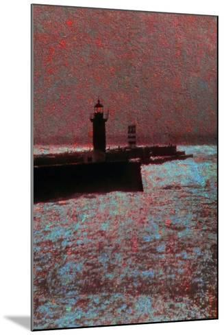 By the Sea-Andr? Burian-Mounted Photographic Print