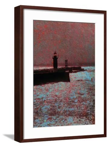 By the Sea-Andr? Burian-Framed Art Print