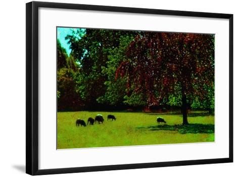 Country Side-Andr? Burian-Framed Art Print