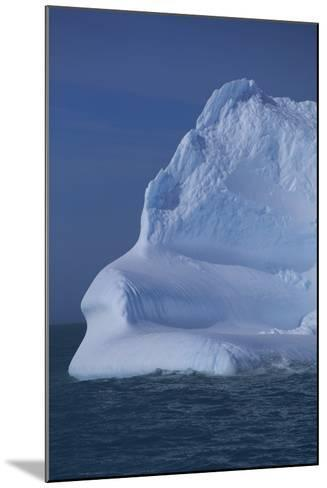 Iceberg Floating in Ocean-DLILLC-Mounted Photographic Print
