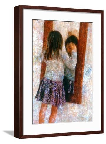 Mirror-Andr? Burian-Framed Art Print