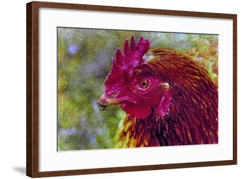 Chicken-Andr? Burian-Framed Art Print