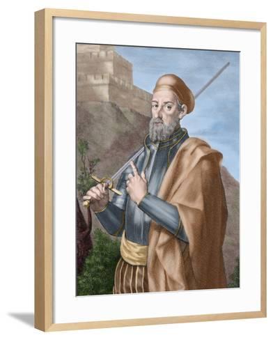 Diego Garcia a De Paredes (1468-1533)-Tarker-Framed Art Print