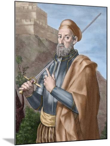Diego Garcia a De Paredes (1468-1533)-Tarker-Mounted Photographic Print
