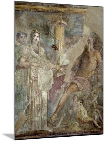 Roman Art : the Wedding of Zeus and Hera on Mount Ida--Mounted Photographic Print