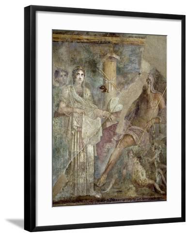 Roman Art : the Wedding of Zeus and Hera on Mount Ida--Framed Art Print